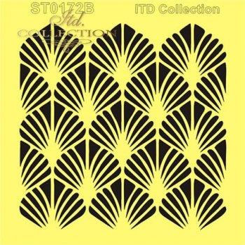 Hobbilicious Stencil ITD ST0172B