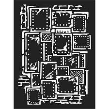 KSAT03 Stamperia Stencil Steampunk