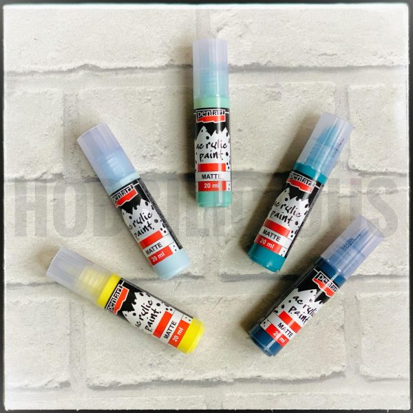 Pentart Sea Spray matt acryliccolours