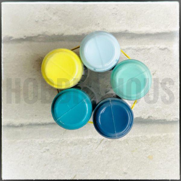 pentart matt acrylic colours sea spray