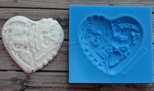 prosvet steampunk heart mould