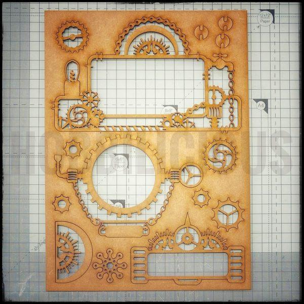 Hobbilicious Geared Up Frame Board