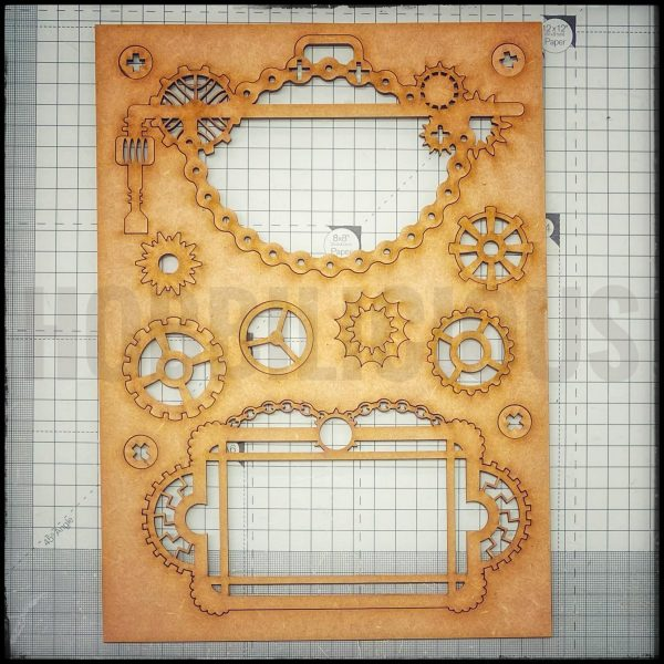Hobbilicious Geared Up Board 2 Steampunk
