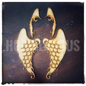 Hobbilicious MDF Guardian Wings