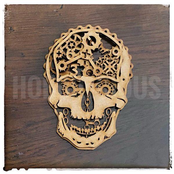 Hobbilicious Mechanised Skull MDF