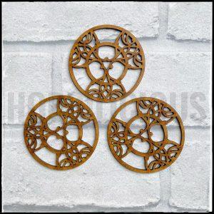 Hobbilicious MDF Nouveau Triple Disks