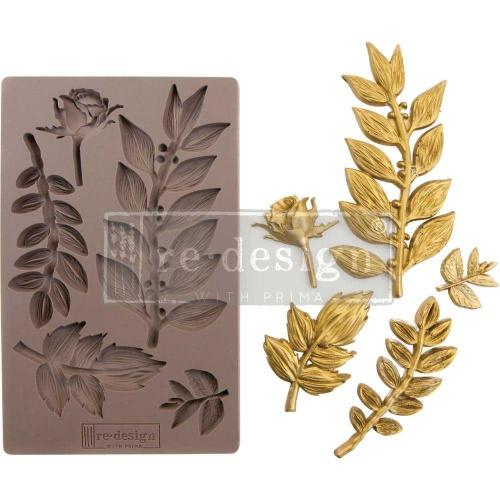 Prima ReDesign Mould Leafy Blossom