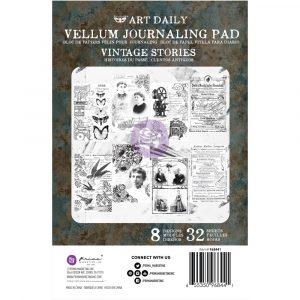 Finnabair Vellum Pad Vintage Stories