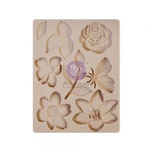 Prima Watercolor Floral Collection Mould