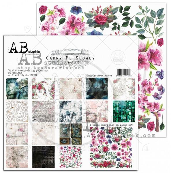 AB Studio Carry me slowly scrapbooking
