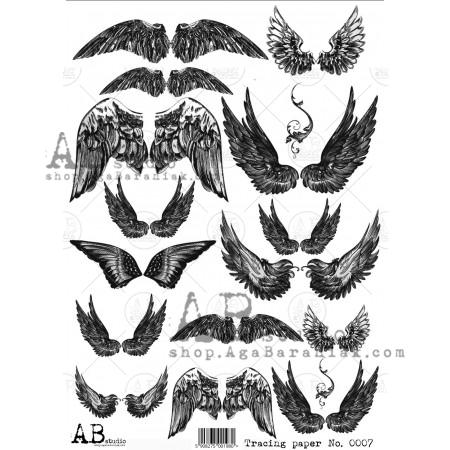 AB Studios 0007 Tracing Paper Wings