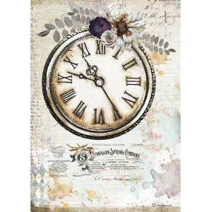 DFSA4555 Romantoc Clock journal