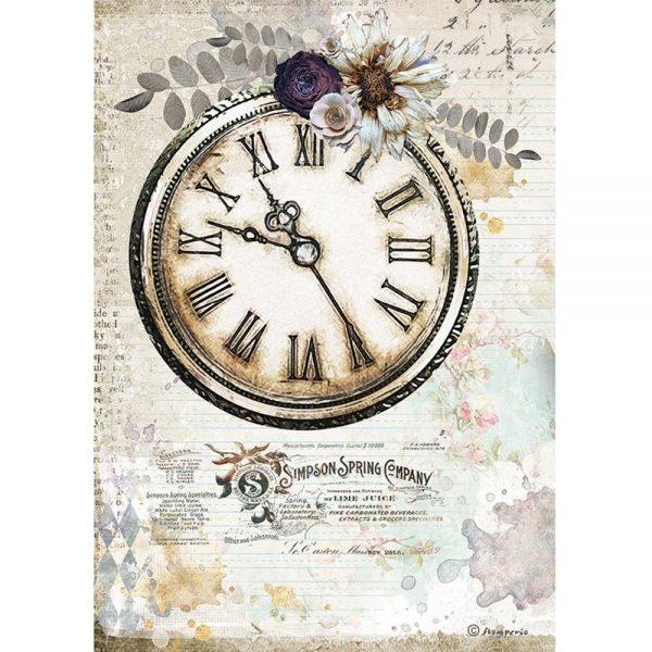 DFSA4555 Romantoc Clock journal