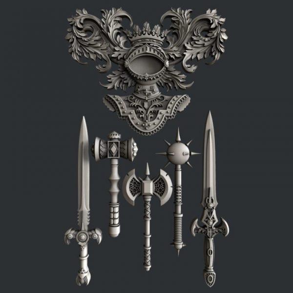 Zuri Medieval Gear