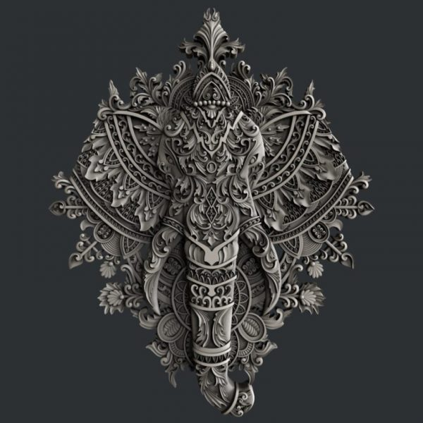 Zuri Ornate Elephant