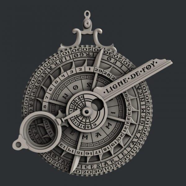 Astrolabe Zuri Mould Hobbilicious