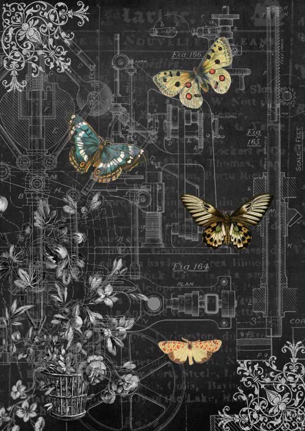 DQRP_0128 Mechanical Butterflies I
