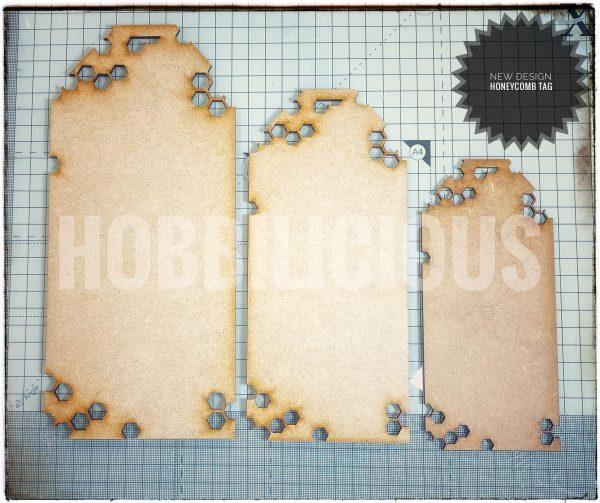 Honeycomb Tag Hobbilicious
