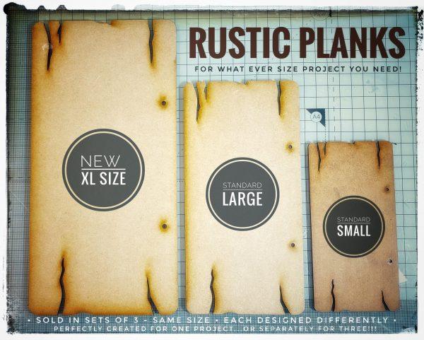 Rustic Plank Set L