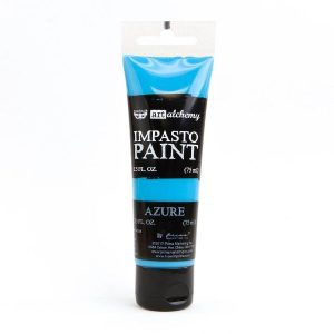 Art Alchemy Impasto paint Azure