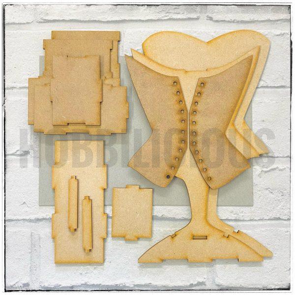 Hobbilicious Corset Box Stand