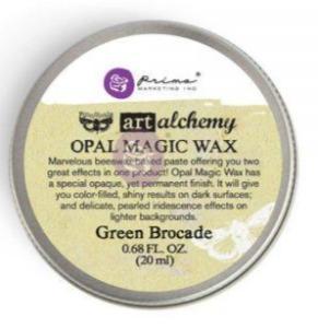 Art Alchemy Opal\Magic Green Brocade