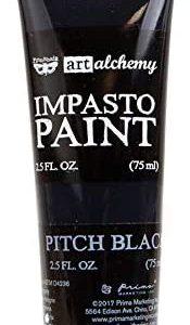 Art Alchemy Impasto paint Pitch Black