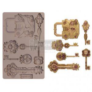 Prima ReDesign Mould Mechanical Lock & Keys 655350652159