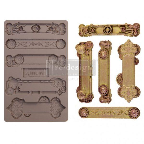 Prima ReDesign Mould Steampunk Plates 655350652166