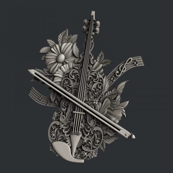 Zuri moulds Violin Magic Hobbilicious