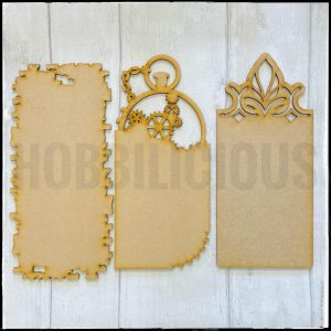 Hobbilicious Age Old MDF Tags Set