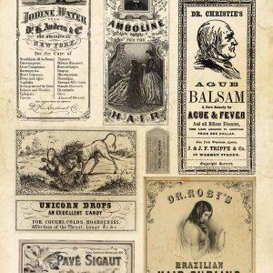 Decoupage Queen Vintage Apothecary
