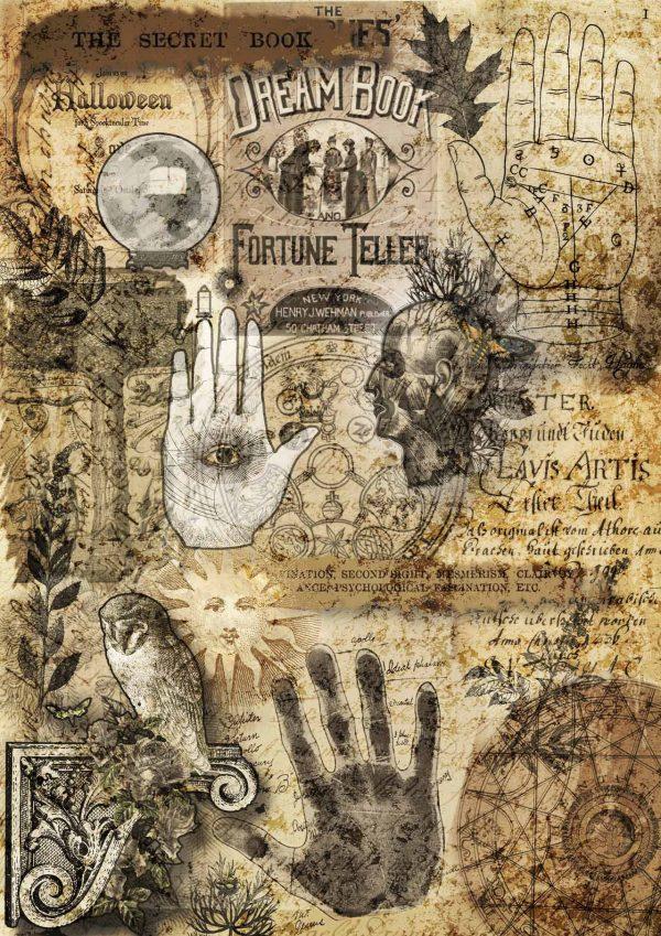 Decoupage Queen Book of Fortunes
