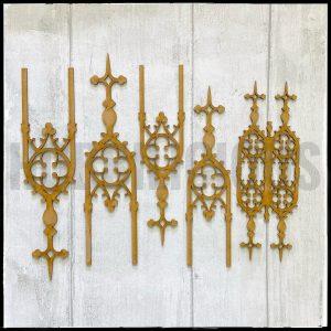 Hobbilicious MDF Gothic Details Set