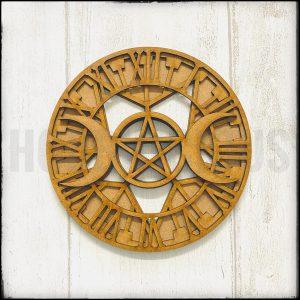 Celestial Clock Hobbilicious MDF