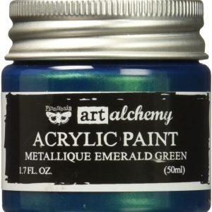 Art Alcheny Metallique Teal Hobbilicious