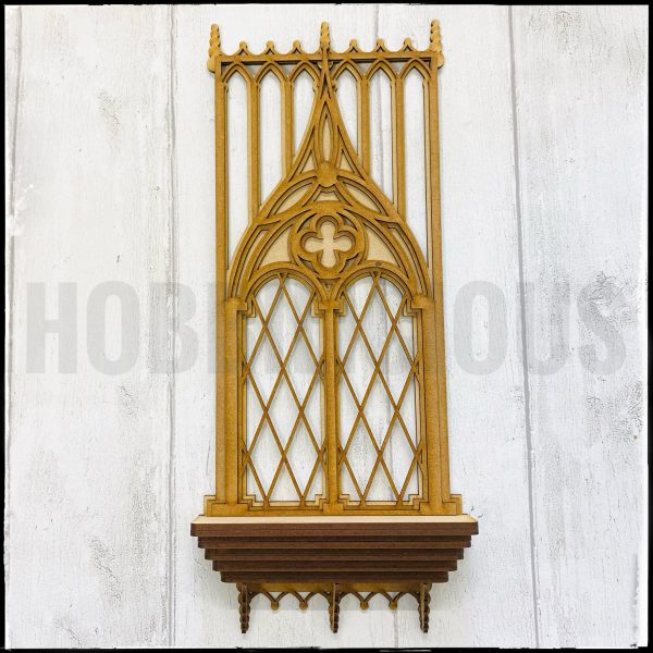 Gothic Window kit 2 MDF Hobbilicious
